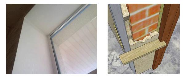 Оштукатуривание откосов слоем более 25 мм