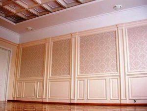Облицовка стен декоративными панелями