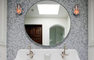 Крепление зеркала на стену