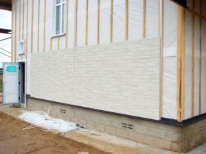 Монтаж фиброцементных фасадных панелей
