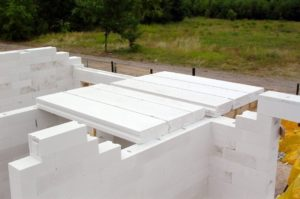 Монтаж плит перекрытия ж/б или сибит