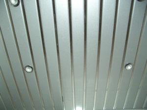 Реечные алюминиевые потолки